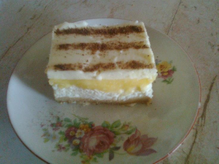 Túrós krémes, sütés nélkül