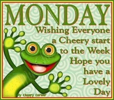 #HappyMonday Make this a great week!