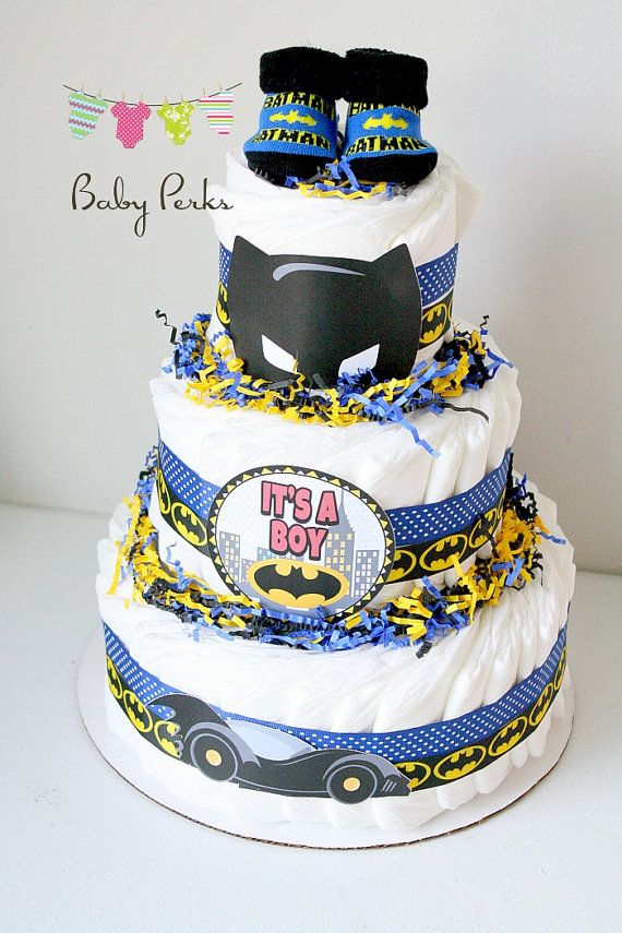 Batman Motorcycle Cake
