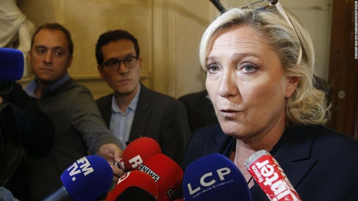 Marine Le Pen, the leader of France's National Front party, has been formally placed under investigation in connection with a corruption scandal, a spokesman for the far-right party told CNN on Friday.