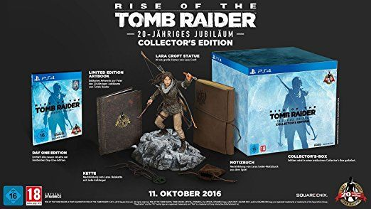 Rise of the Tomb Raider: 20-jähriges Jubiläum - Day One Edition [PlayStation 4]: Amazon.de: Games