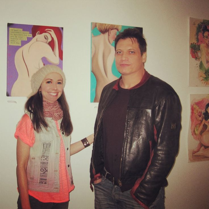 Holt McCallany and girlfriend Artist Nicole Wilson - Celebrity Marriages - Celebrity Relationships