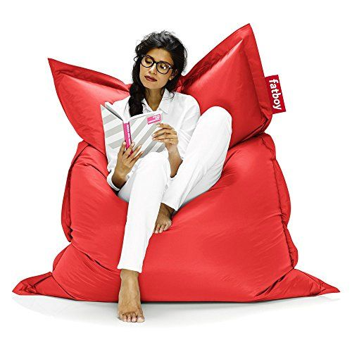 #AmericanCancerSociety Perfect for lounging in any position, the Fatboy Original 6-Foot Extra Large Bean Bag Chair is oversized to mold to every inch of your bo...