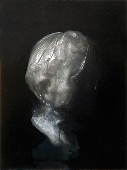 """@Russell Grisaille this is reminiscent of your work. """"Seer"""" by Nicola Samori."""