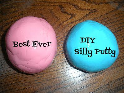 Best Ever DIY Silly Putty! (Gak)