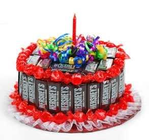 candy bar cake!