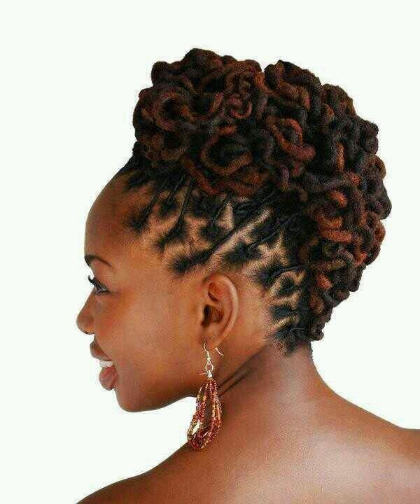 I love an up-do. This is cute