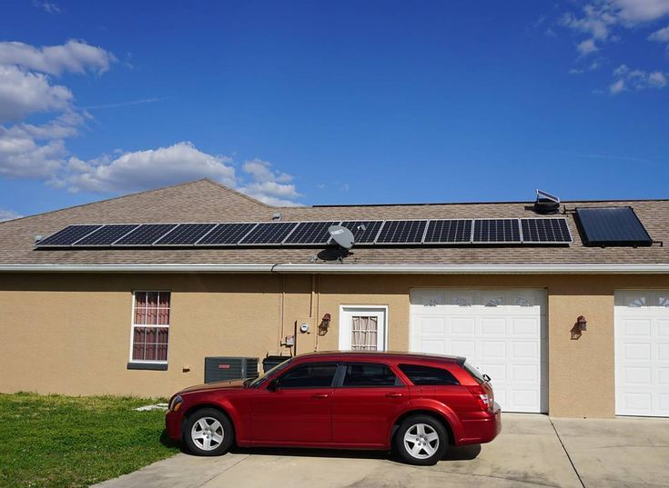 FUN SOLAR FACT:  The amount of solar energy that hits the earth in one minute meets the worlds energy needs for one year.  FEATURED PICTURE:  3kW PV System w/ 80 gallon Solar DHW and one 24 watt Solar Attic Fan  Products by @solarworld_usa UMA solar @enphase_anz  Racks and Rails by IronRidge  We do it all from new installs to repairs residential agricultural projects boats trailers and more  Financing options available  Reach out to us if you have any further questions (386)218-6930or feel…
