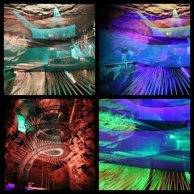 Best Underground Trampoline Ideas On Pinterest Trampolines - Gigantic underground trampoline inside cave looks amazing
