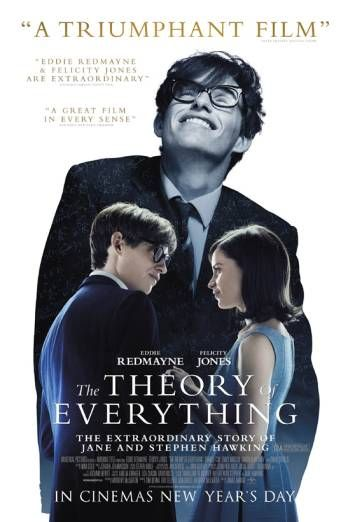 THE THEORY OF EVERYTHING Fantastic film. Great actor.