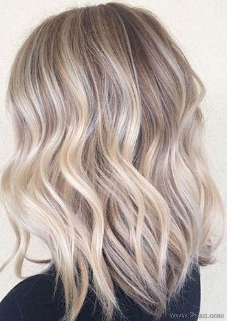 Platin Sari Saç Renkleri Ve Modelleri, Bu saç rengi için ten renginiz buğday olmalıdır.