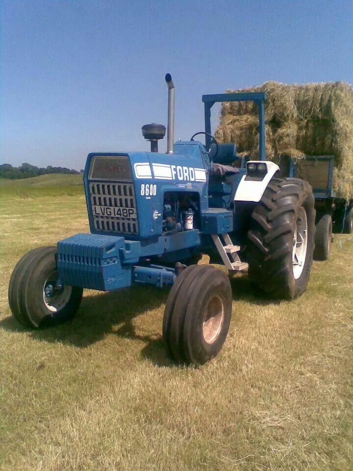 17 Best images about Blue Ford Tractors on Pinterest ...
