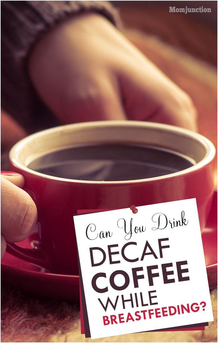 coffee and breast feeding