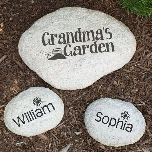 42 best images about personalized gifts for her on pinterest - Personalized garden stepping stones ...