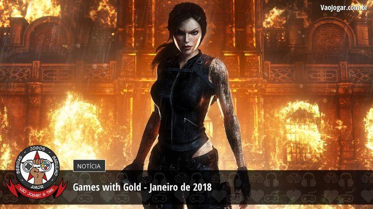 Demônios, zumbis, deuses nórdicos e tiroteio no começo de ano para os assinantes da Live Gold.  #GamesWithGold #XboxOne #XOne #Xbox360 #X360 #LiveGold #VaoJogar #VideoGames #Games #InstaGames
