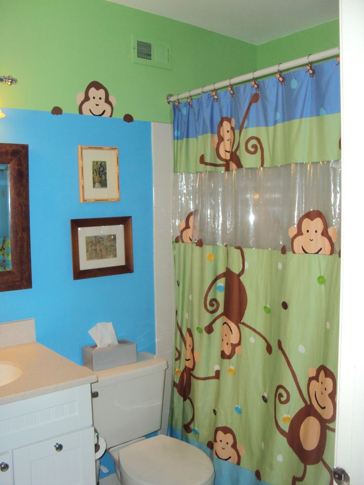 Monkey Bathroom