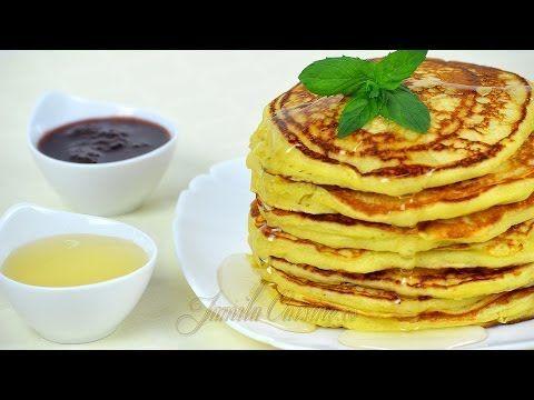 Clatite americane - Pancakes - JamilaCuisine - YouTube