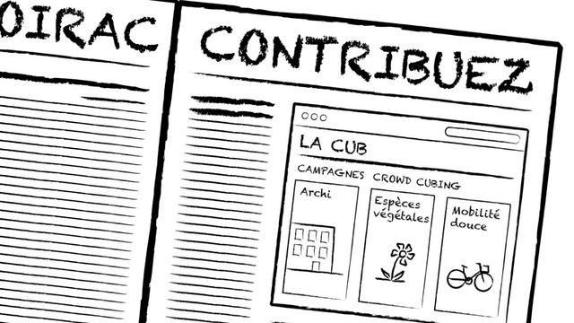 Crowd Cubbing. Scénario prospectif imaginé avec les acteurs de la Communauté Urbaine de Bordeaux, en partenariat avec la FING et USER STUDIO...