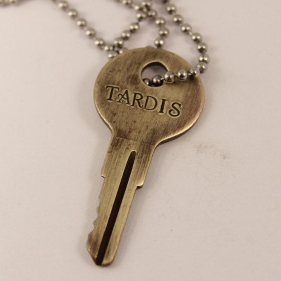 Hey, I found this really awesome Etsy listing at https://www.etsy.com/ca/listing/247547368/tardis-key-doctor-who-whovian-necklace