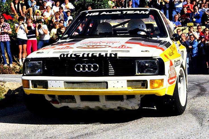 Tour de Corse 1985 Walter Röhrl.