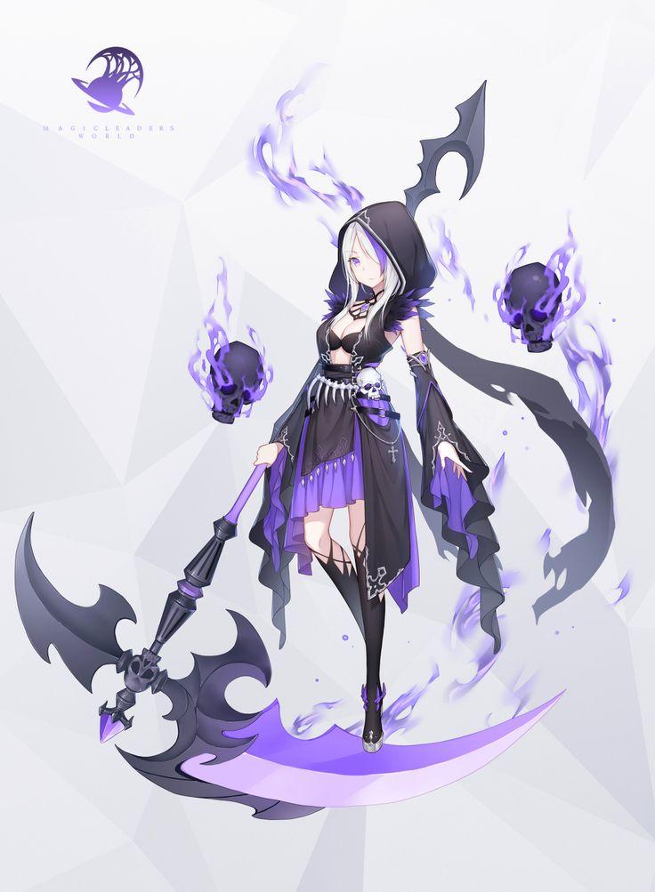 Картинки из аниме девушек с косой