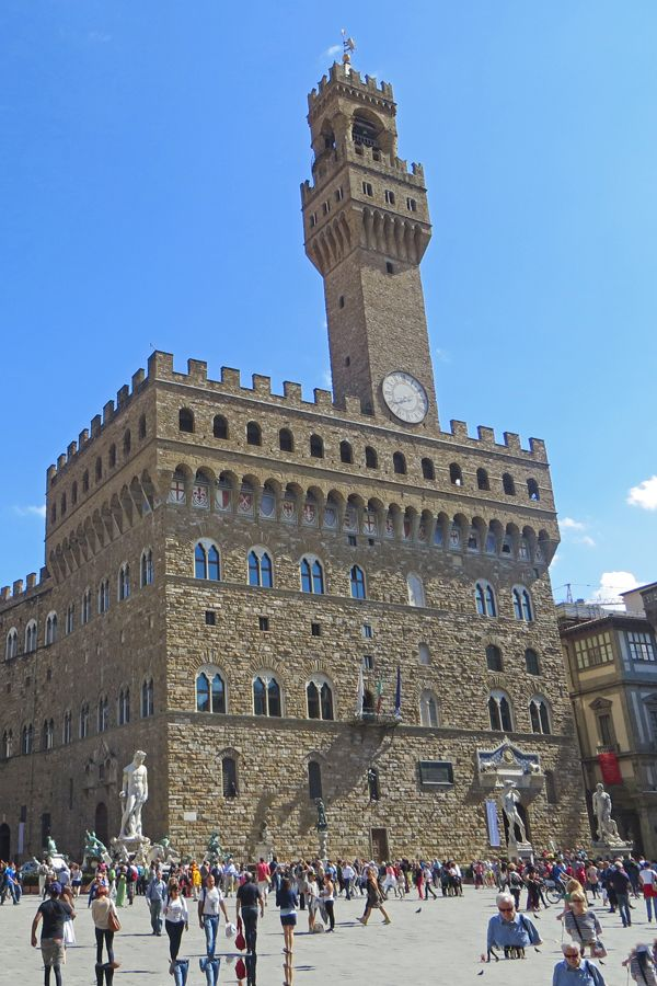 The Palazzo Vecchio in Florence Italy is one of several tourist attractions covered in the Florence Italy City Guide.  Start planning your vacation to Tuscany!