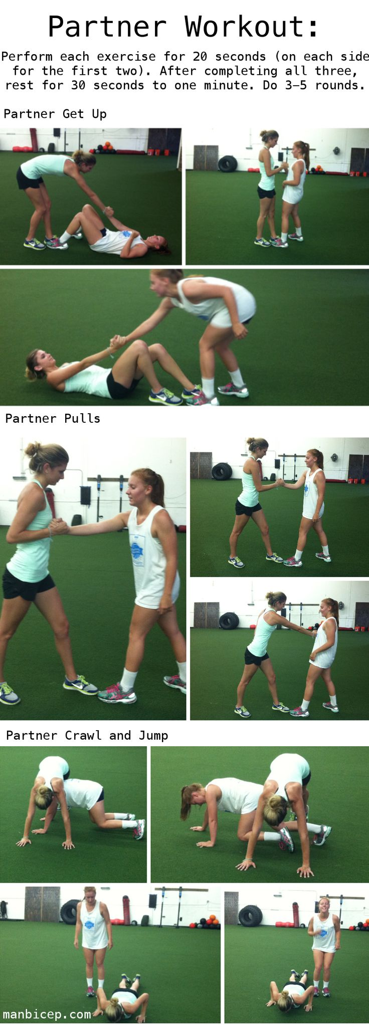 37 Best Images About Partner Workouts On Pinterest