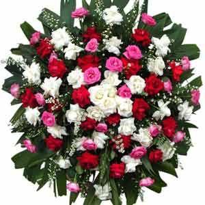 Coroa de flor de Rosas