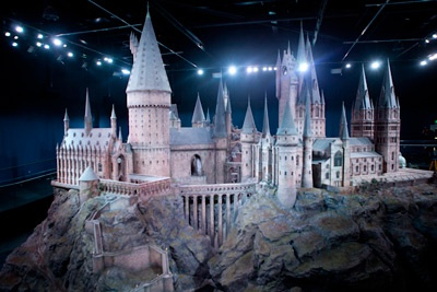... visit the Harry Potter Studio Tour in London.