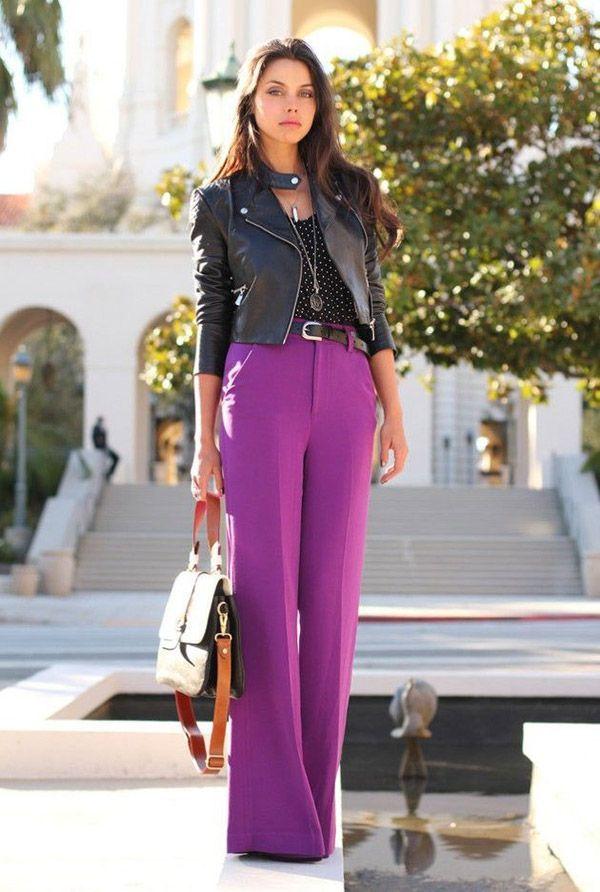 20 Maneras de Vestir con unos Pantalones Palazzo - Muy buenas Ideas ! - Moda