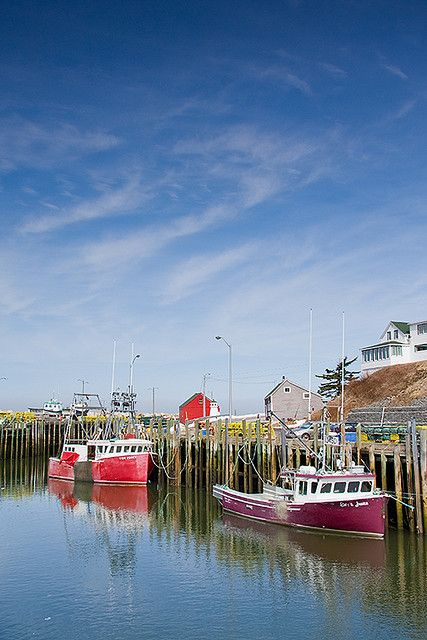 Hall's Harbor, Bay of Fundy, Nova Scotia, Canada