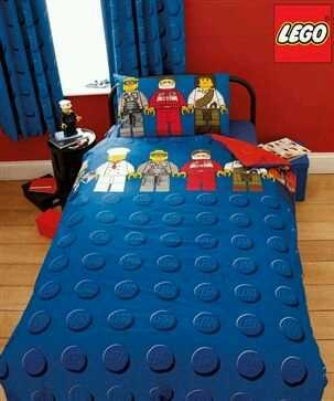 BN Lego Brick Bedding & Curtains From Next | eBay