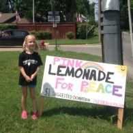 Jayden, a 5 1/2 year old beautiful girl, will be selling lemonade on the front lawn of the Equality House with an ole' fashioned lemonade stand. 100% of proceeds from the sales will go directly towards the work of Planting Peace. Let's show Jayden how powerful philanthropy can be! Come on your ...