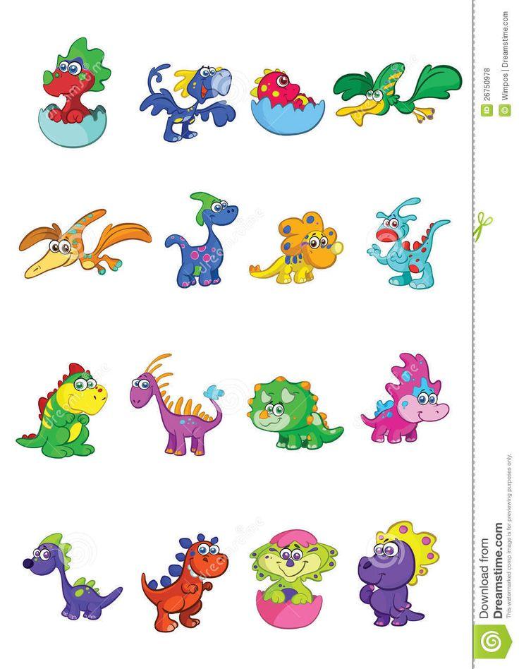 Cartoon Baby Dinosaur Egg Background 1 Hd Wallpapers