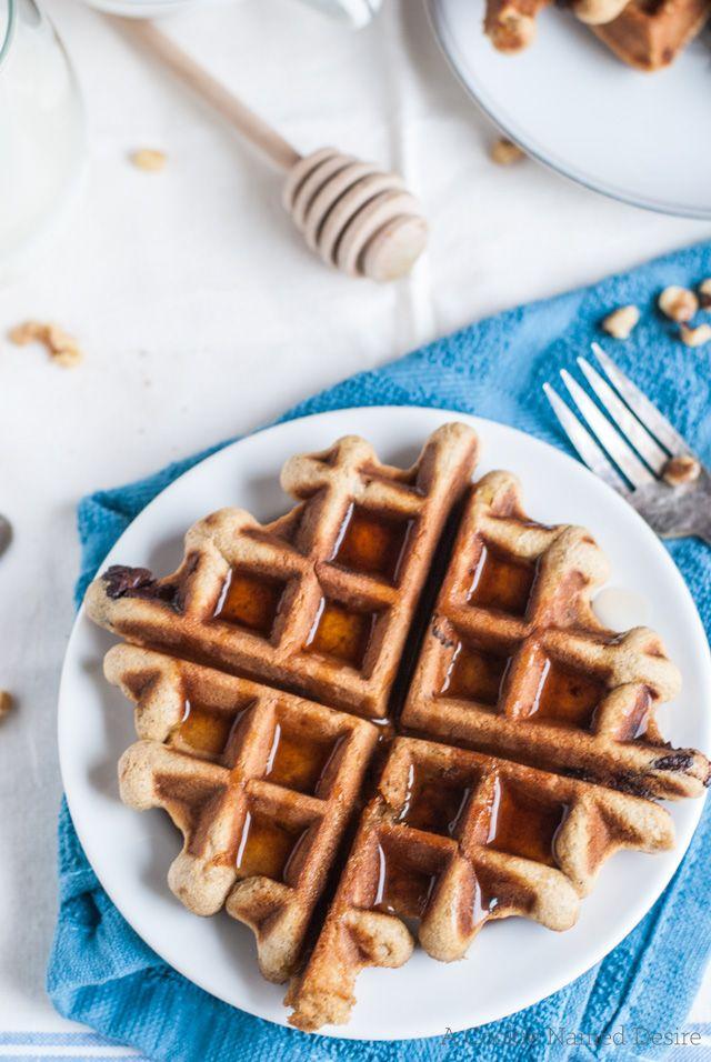 Banana bread waffles recipe
