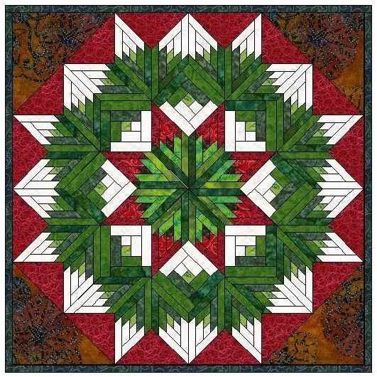 436 Best Christmas Quilts Images On Pinterest Patchwork