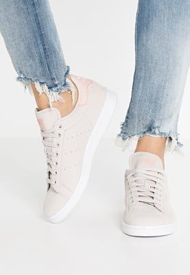 adidas Originals STAN SMITH - Trainers - pearl grey/white/vapour pink - Zalando.co.uk