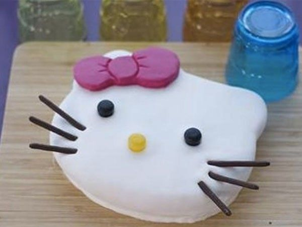 Mimi, le gâteau Hello Kitty