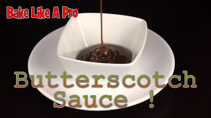 Easy Butterscotch Sauce Recipe