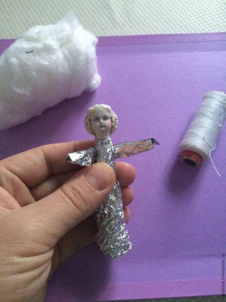 Создаем ватную игрушку «Рождественский ангел». Часть 1 - Ярмарка Мастеров - ручная работа, handmade