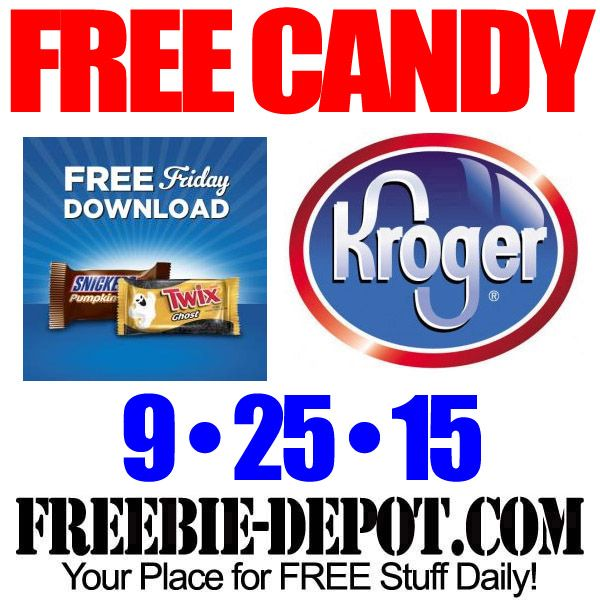►► FREE Snickers or Twix – Kroger Freebie Friday Download – FREE Digital Coupon – 9/25/15 ►► #Free, #FREEStuff, #FreebieFriday, #Kroger, #Snickers ►► Freebie-Depot