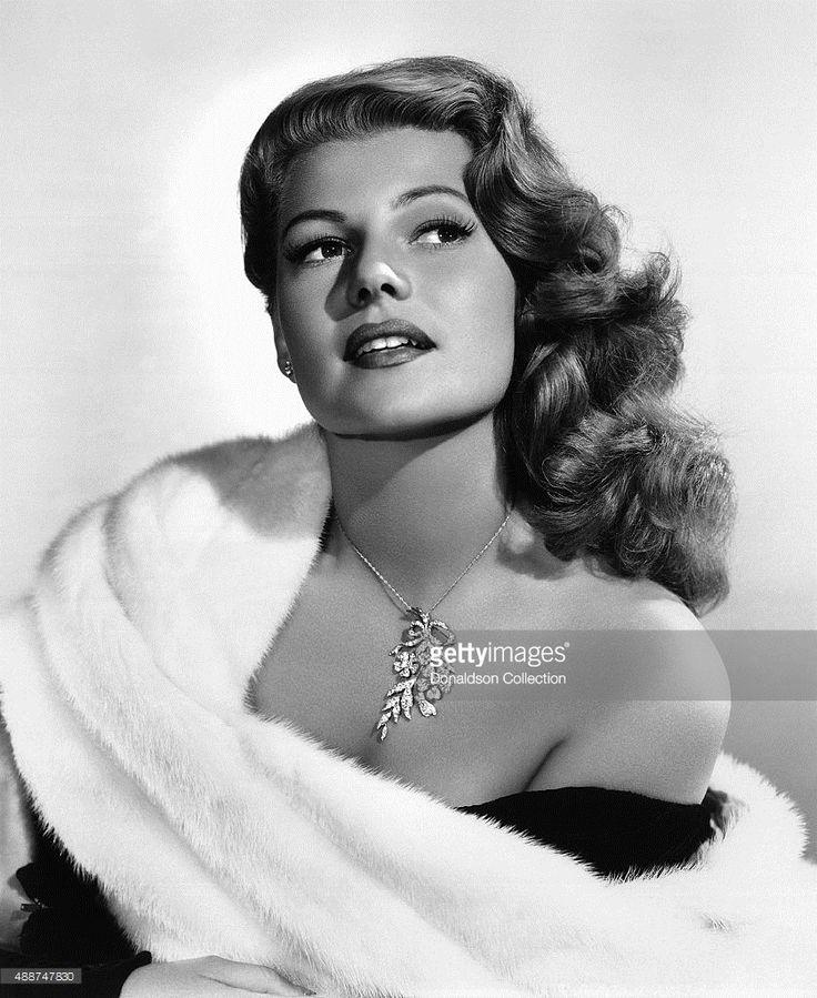 Actress Rita Hayworth poses for a publicity still circa 1945.