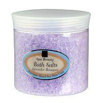 Aromatic Dead Sea Bath Salt. Lavender Bouquet | Dead Sea Bath Salts