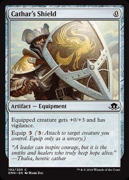 Magic: the Gathering - Cathar's Shield (192/205) - Eldritch Moon - Foil