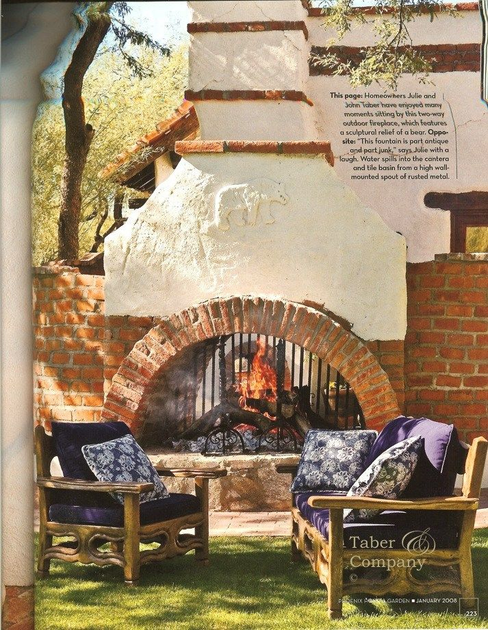spanish style outdoor furniture. spanish hacienda style furniture and architecture issue phoenix home u0026 garden taber company mesquite outdoor