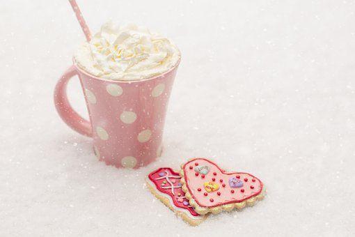 Valentine, Walentynki, Zima, Śnieg