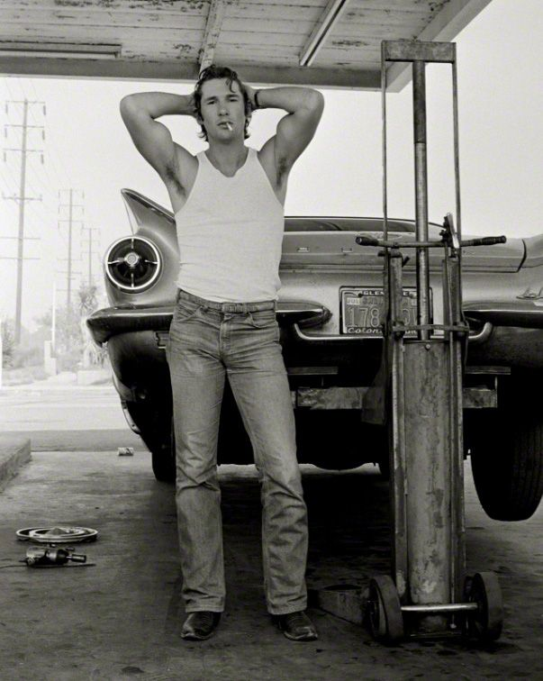 Richard Gere by his friend Herb Ritts.