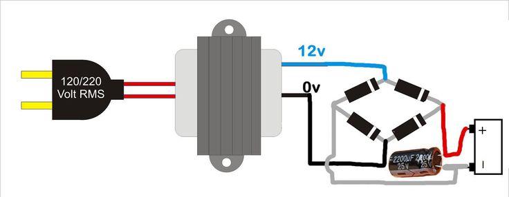 Cargador de baterías para carro casero (12V) - Taringa!