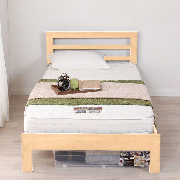 ボード ベッド ニトリ シングル のピン