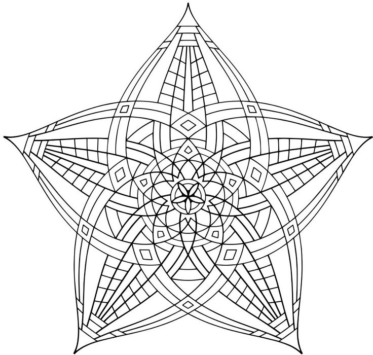 17 best images about antistresov omalov nky on pinterest for Geometric coloring pages online